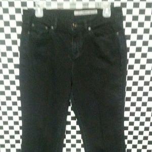 Dkny soho black jeans 10 R